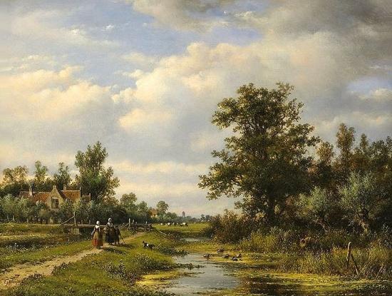 художник Лодевейк Йоханнес Клейн (Lodewijk Johannes Kleijn) картины – 12