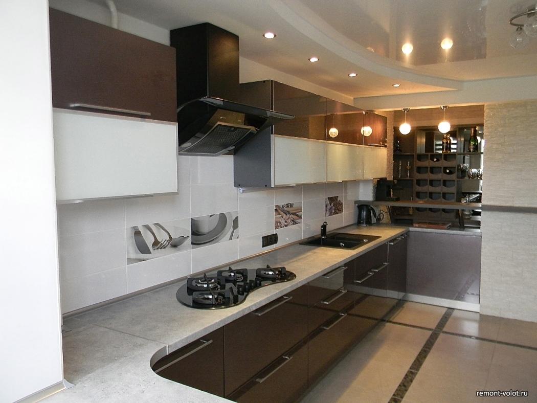 Дизайн кухни шириной 2 м фото 152