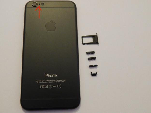 Точка возле камеры iPhone вещи, смысл, удивительное рядом