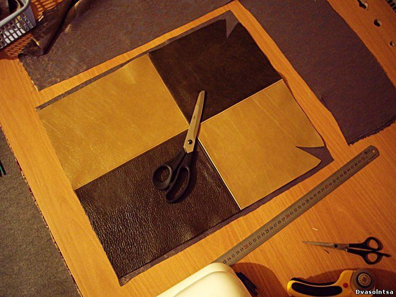 Как сшить сумку из кожи своими руками - 20 Октября 2010