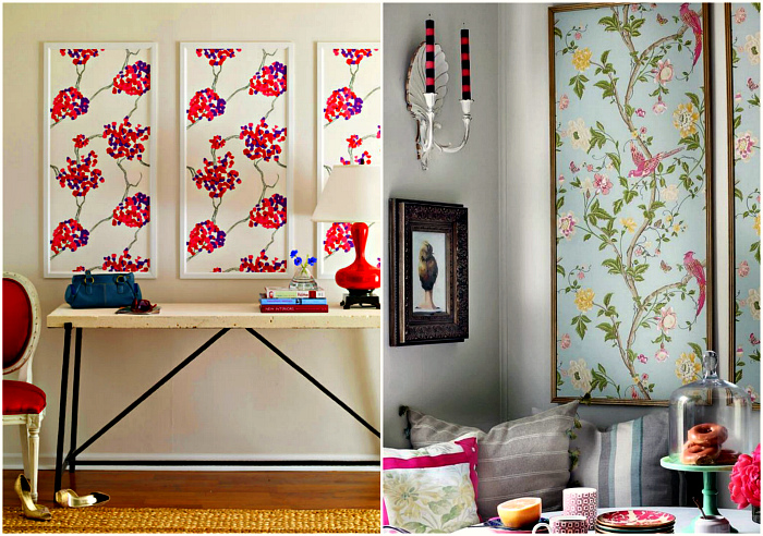Картины и стеновые панели.