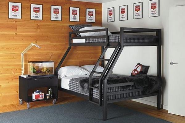 Стильная двухъярусная кровать для взрослых от  Room & Board