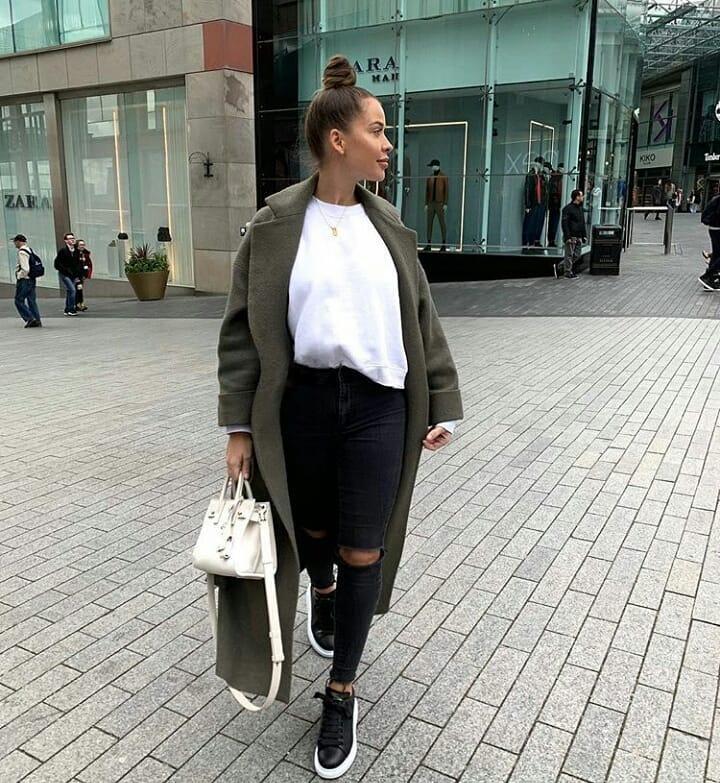 Модные образы на каждый день осень-зима 2018-2019 фото 1