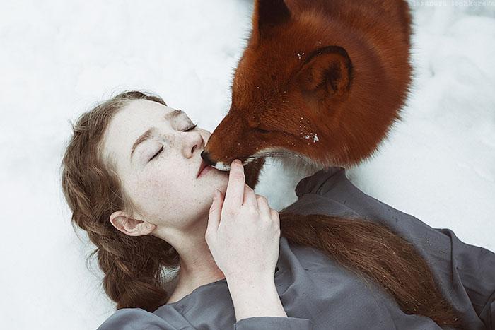 Очаровательные рыжие модели на фотографиях Александры Бохкаревой.