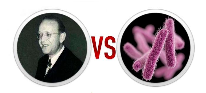 6. Мышиная угроза: Сидни Левинсон против дизентерии