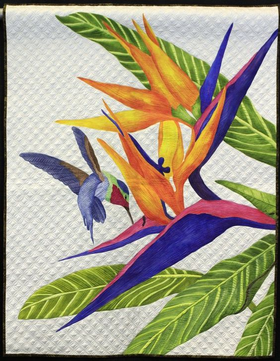 A Taste of Paradise by Deb Crine, NQA 2013 Quilt Show Winners: