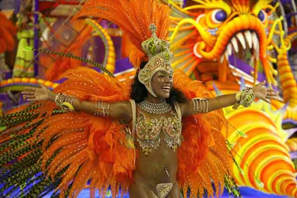 Карнавал Рио, Бразилия