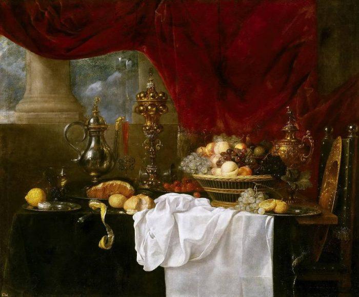 галерея натюрмортов XVII – IX века – 01