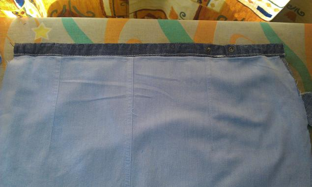 Модная сумка из старых джинсов, фото № 15