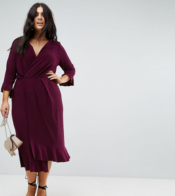 Платья, скрывающие живот модные в 2020