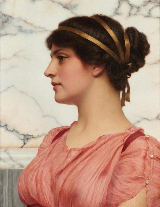 Джон Уильям Годвард римская красавица  (540x700, 42Kb)