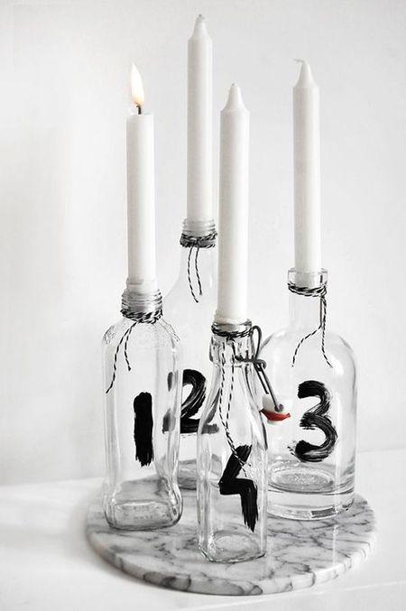 Уютные подсвечники своими руками: 15 идей фото 3