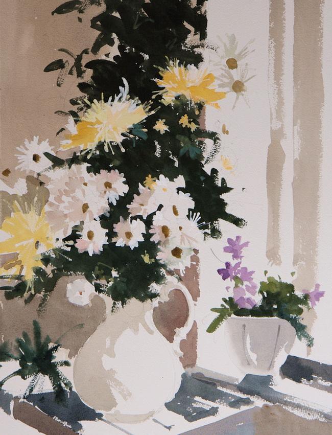 Солнечные брызги с кисти художника -- изумительно живые цветы Джона Ярдли