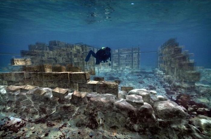 Павлопетри - город под водой площадью более 30000 кв. метров.   Фото: images.detik.com.