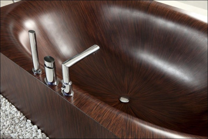 Деревянные ванны