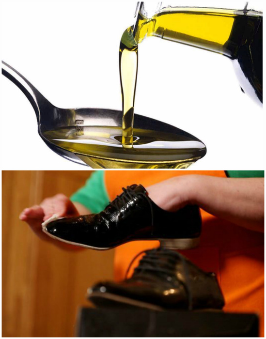 Удаляем сложные загрязнения с помощью оливкового масла. | Фото: Hundred worries.