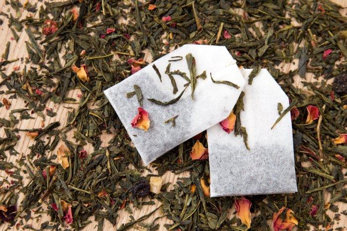 Чайные пакетики. \ Фото: Marta Meos.