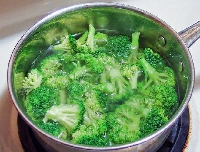 Полив отваром овощей