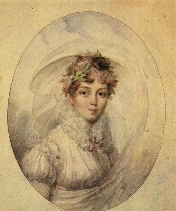 Одна из самых выдающихся женщин XIX в., хозяйка литературно-художественного салона, певица и поэтесса.