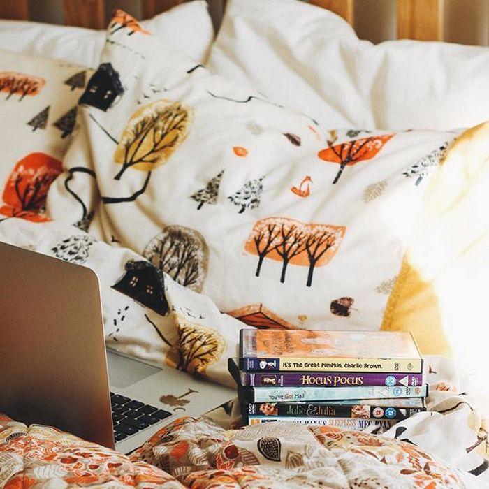 2. Обновите постельное бельё.