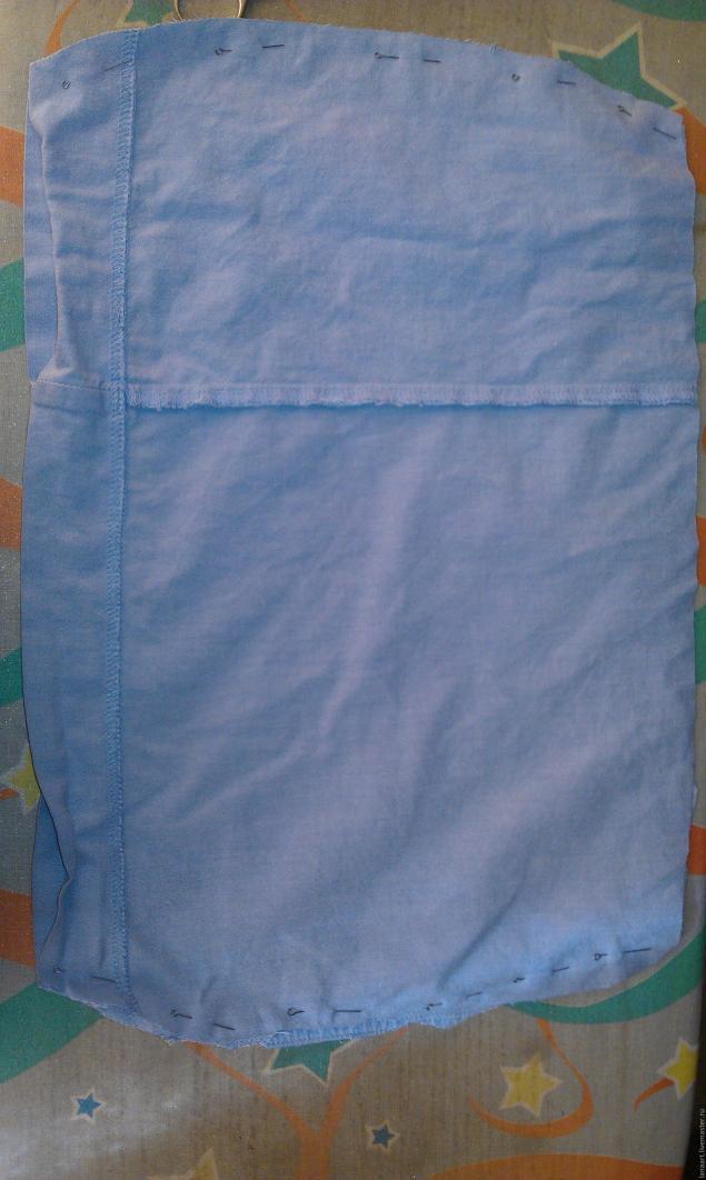 Модная сумка из старых джинсов, фото № 12