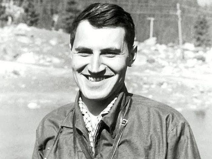Николай Дроздов в молодости. / Фото: www.animalsfoto.com