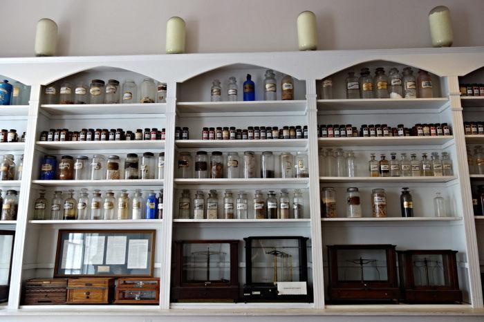 Аптечный музей Нового Орлеана. / Фото: www.atlasobscura.com