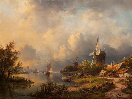 художник Лодевейк Йоханнес Клейн (Lodewijk Johannes Kleijn) картины – 17