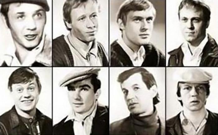 Фотопробы актеров на роль Афони | Фото: dubikvit.livejournal.com