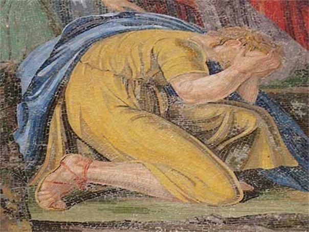 Плачет за грехи Верую Православие