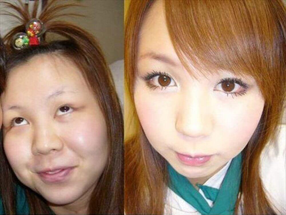 когда фото японок без макияжа филипп задал