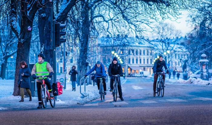 Власти Осло мотивируют горожан пересаживаться на велосипеды. /Фото: i2.wp.com