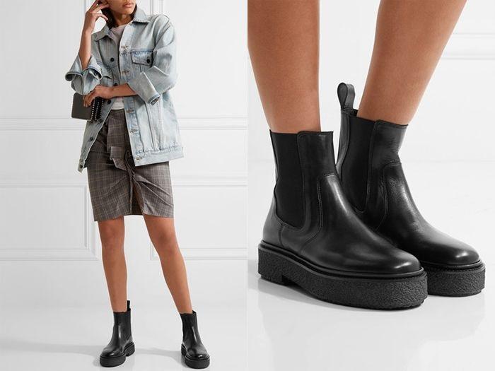 Челси на танкетке - удобный вариант осенней обуви. / Фото: shoes.ua