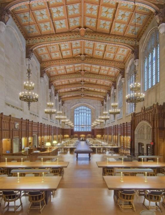library10 Топ 10 самых красивых университетских библиотек мира