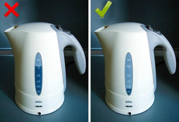 Количество воды в чайнике. | Фото: Small Joys.