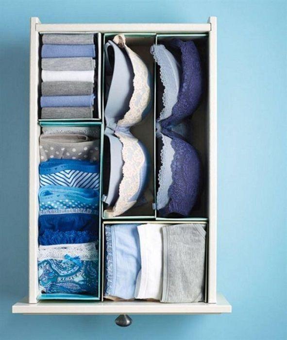Правильное хранение белья