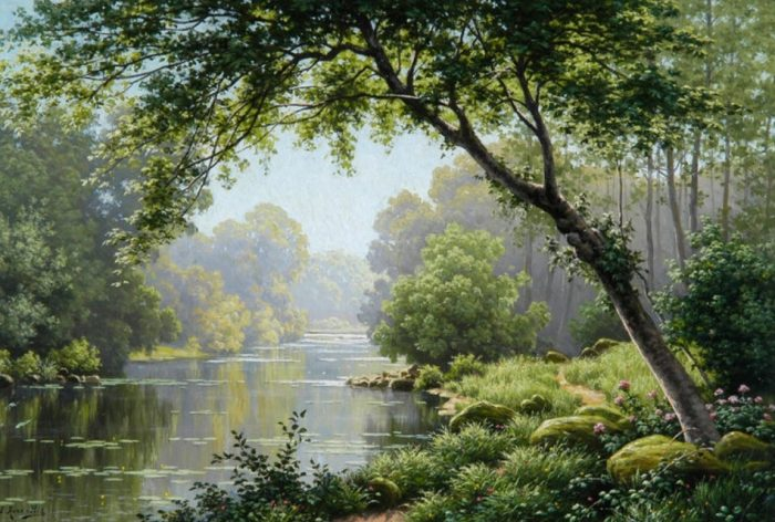 художник René Charles Edmond His картины -2-09