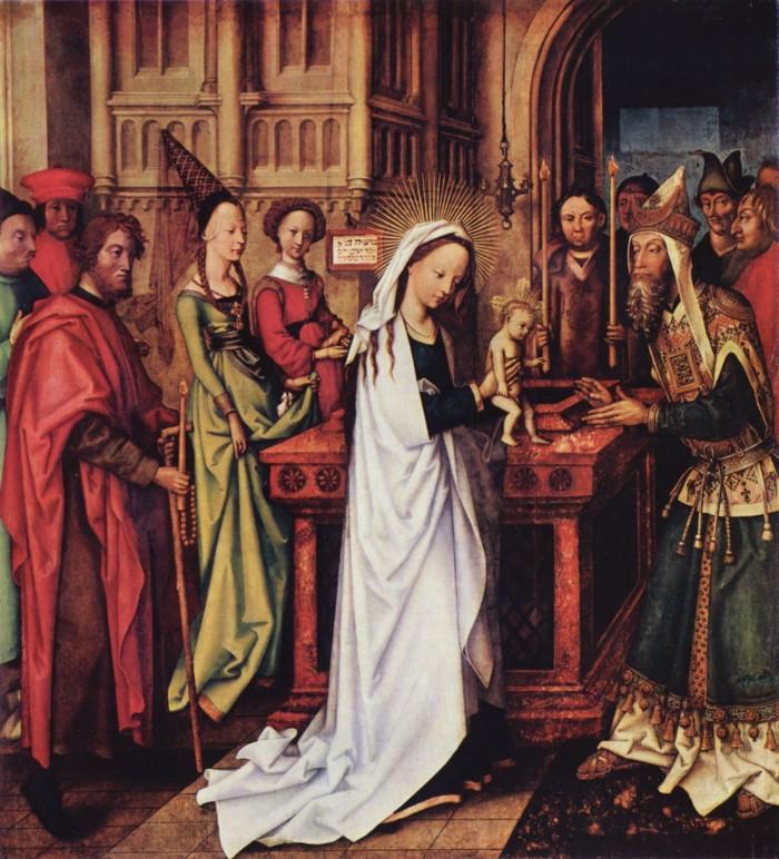 Ганс Гольбейн Старший. Принесение Христа во храм. 1500–01