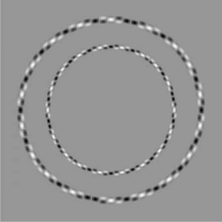 оптические иллюзии, круги