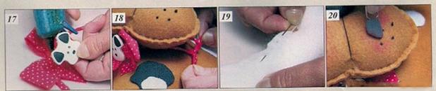 DIY large soft toys