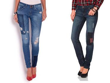 джинсы-с-заплатами
