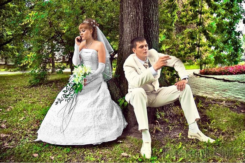 его легкой фото моей свадебной жены оформлена, дом ветхий