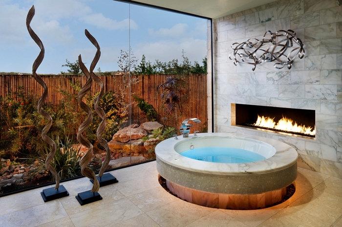 Пора что-то менять: 10 круглых ванн - фото 2