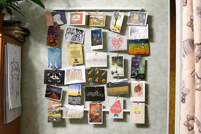 Не храните открытки из путешествий, если они для вас уже ничего не значат. / Фото: Blog.postel-deluxe.ru