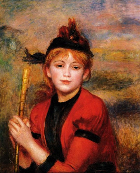 Pierre-Auguste Renoir - The Rambler (569x700, 125Kb)