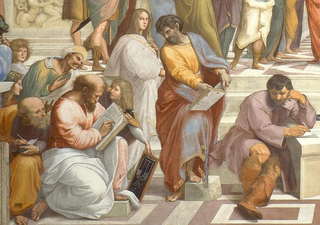 Пифагор с учениками картинки