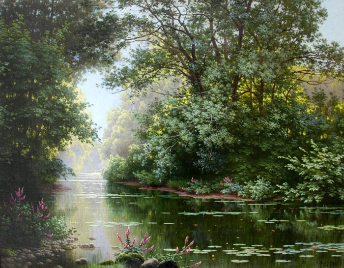 художник René Charles Edmond His картины -2-06