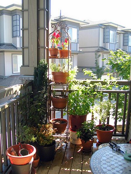 16 очаровательных сезонных идей для сада на балконе фото 7