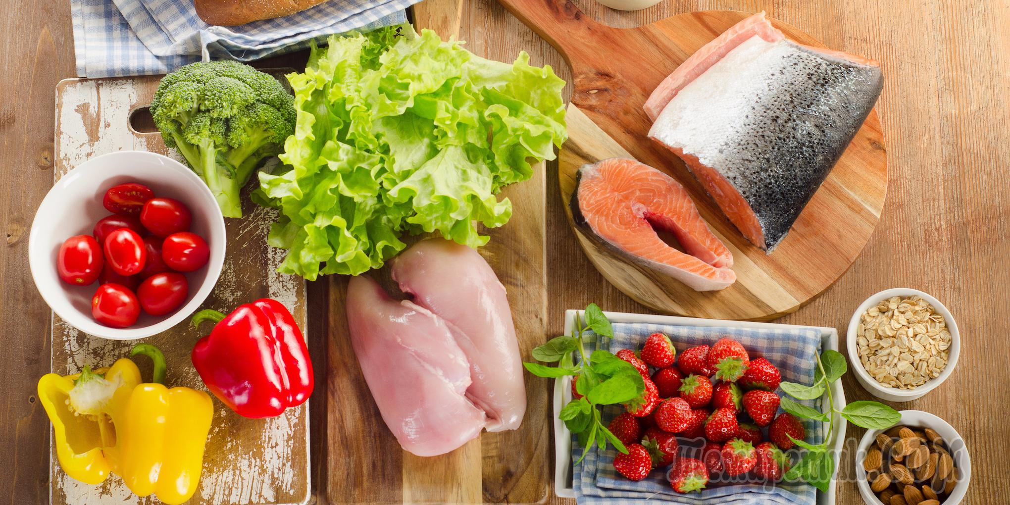 Что можно готовить при белковой диете?