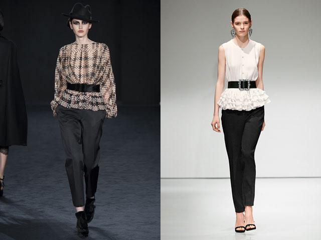 Блузы под пояс 2016